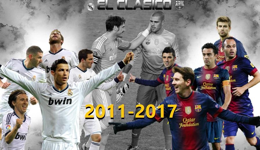 Los mejores Real Madrid-Barcelona 2011-2017
