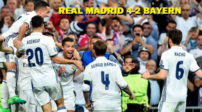 Real Madrid-Bayern Munich Champions 2017