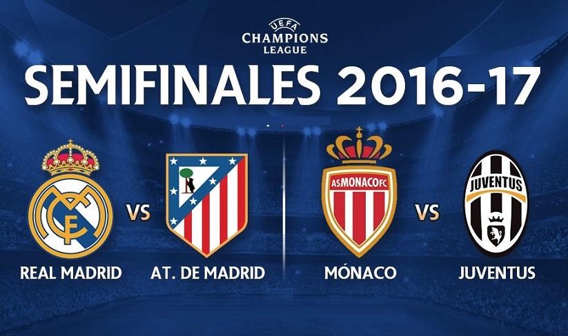 Semifinales Champions 2017
