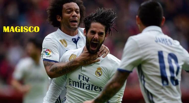 Sporting Gijón-Real Madrid 2017