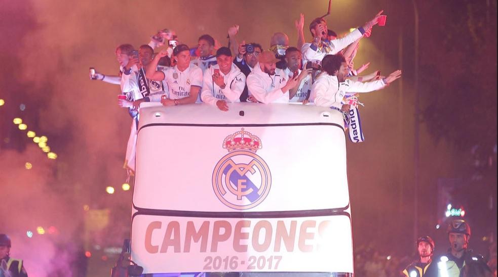 Las mejores Imágenes del Real Madrid Campeón de Liga 2017