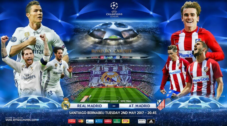 Real Madrid-Atlético Champions League 2017