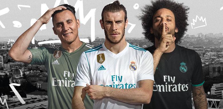 Camiseta Real Madrid 2017-2018  7111117cb7949