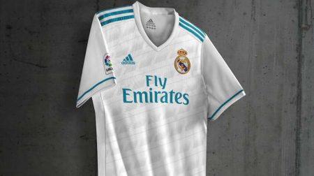 Camiseta Adizero de la primera equipación Real Madrid 2017-18