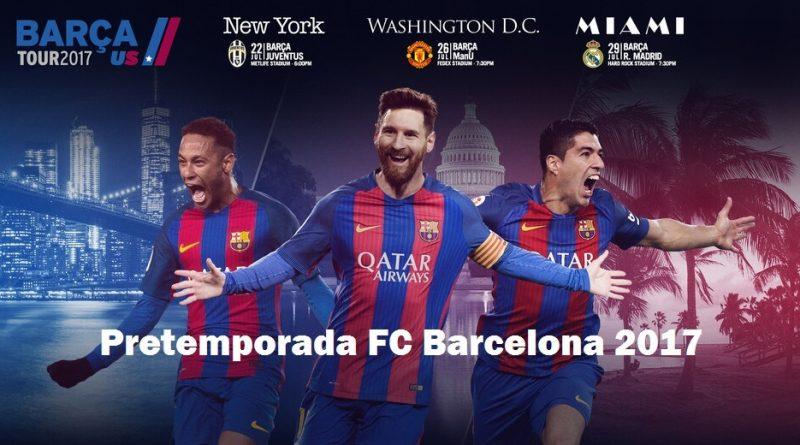 Pretemporada Barcelona 2017