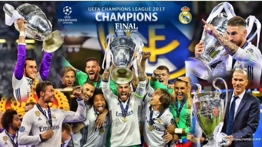 Imágenes Real Madrid Campeón Champions 2017