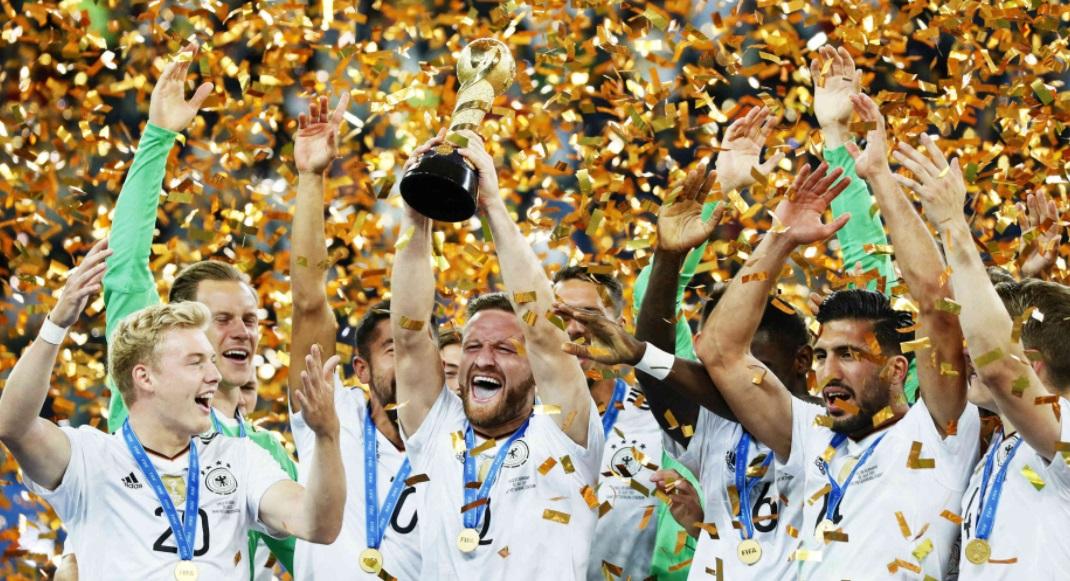 Alemania Campeón Copa Confederaciones 2017