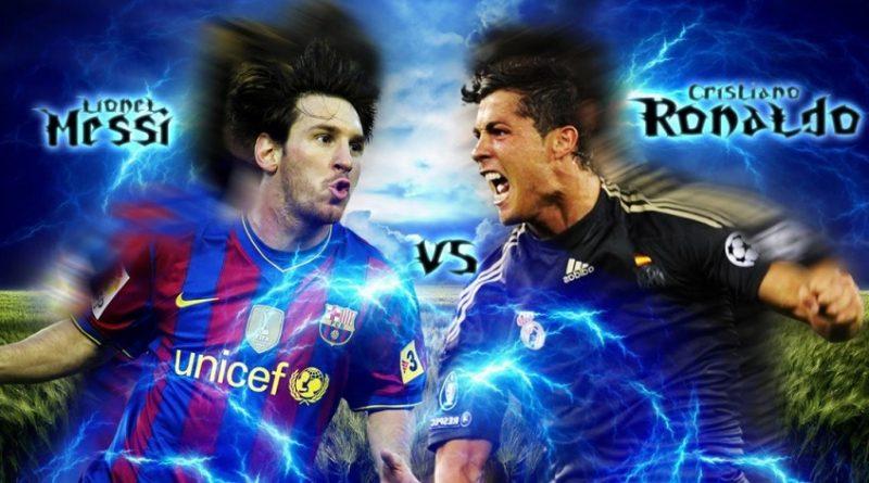 Leo Messi Cristiano Ronaldo pelicula