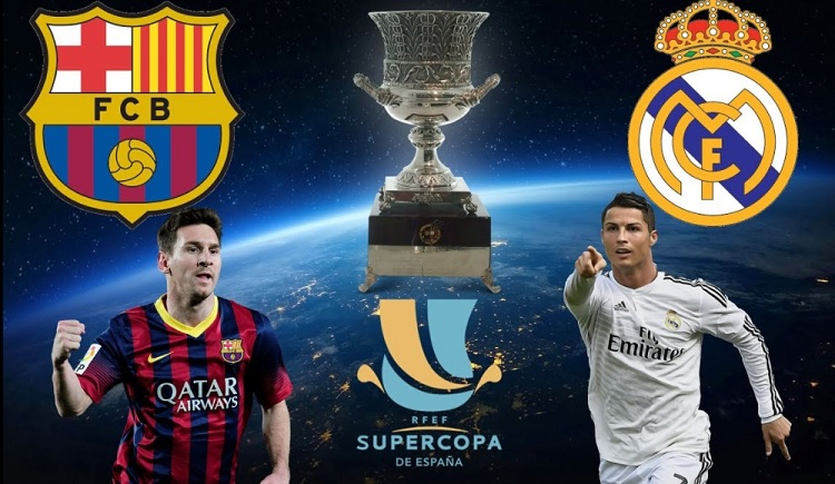 Barcelona-Real Madrid Supercopa 2017