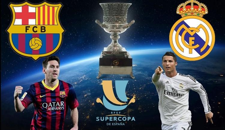 Barcelona-Real Madrid Supercopa 2017