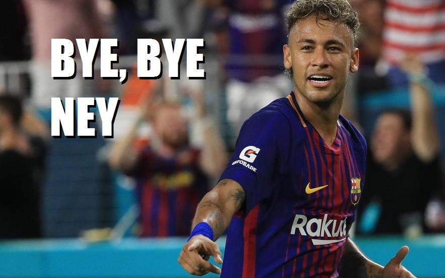 Neymar se va del Barcelona