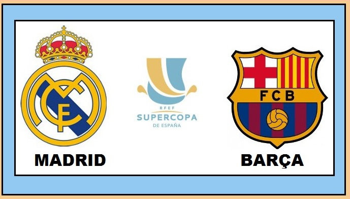 Real Madrid-Barcelona Supercopa