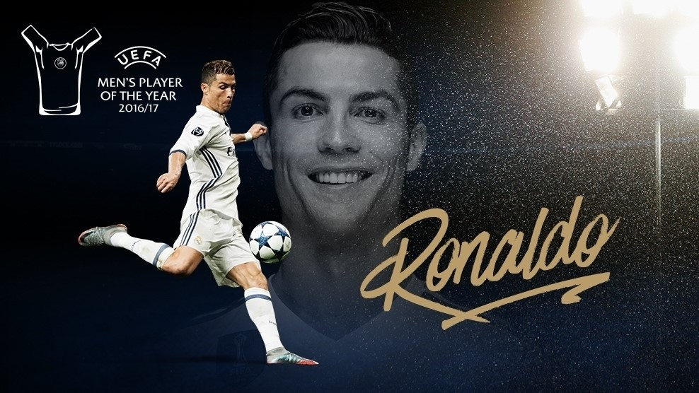 Cristiano Ronaldo UEFA Best Player 2017