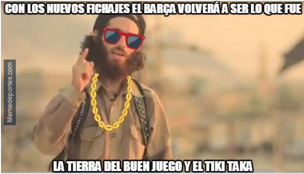 Memes Alavés-Barcelona 2017