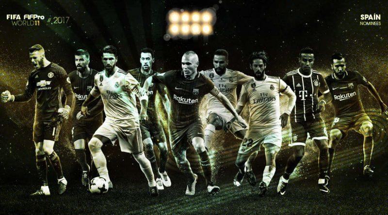 Candidatos al FIFA FIFPro World11 2017