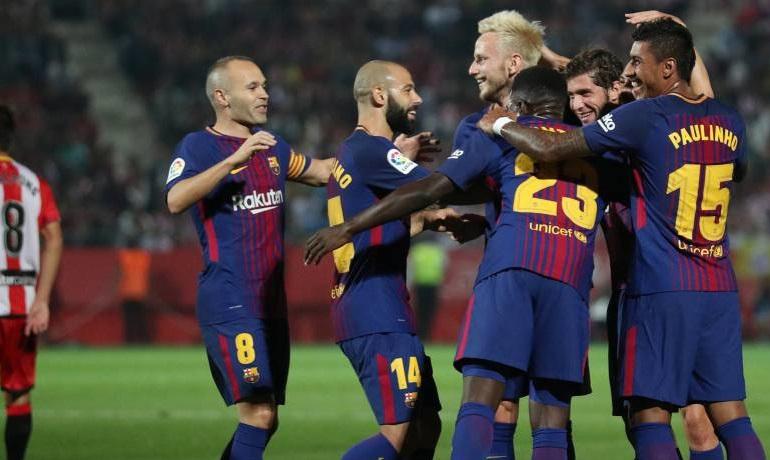 Girona 0-3 Barcelona