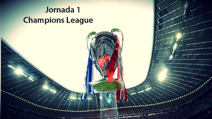 Partidos Jornada 1 Champions League 2017