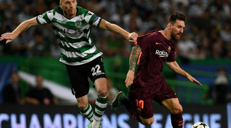 Sporting Lisboa 0-1 Barcelona