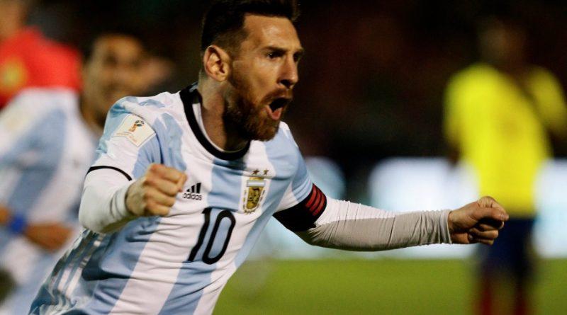 Ecuador 1-3 Argentina Eliminatorias