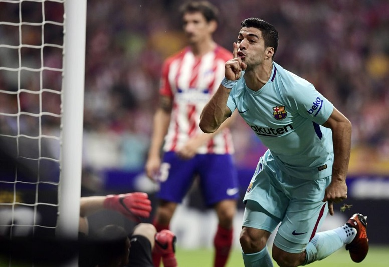 Atlético Madrid 1-1 Barcelona 2017
