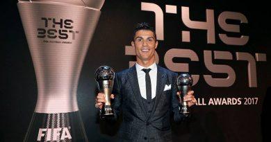 Cristiano Ronaldo FIFA The Best 2017