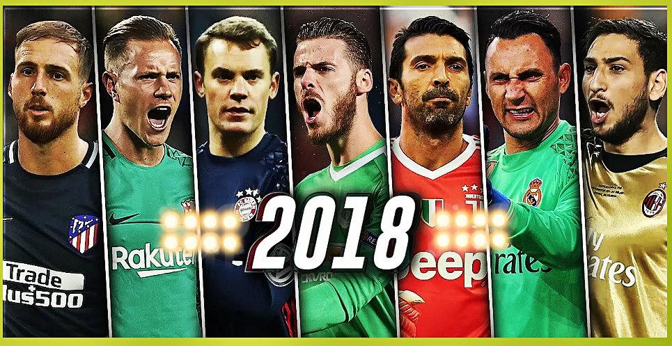 Los mejores porteros del 2018