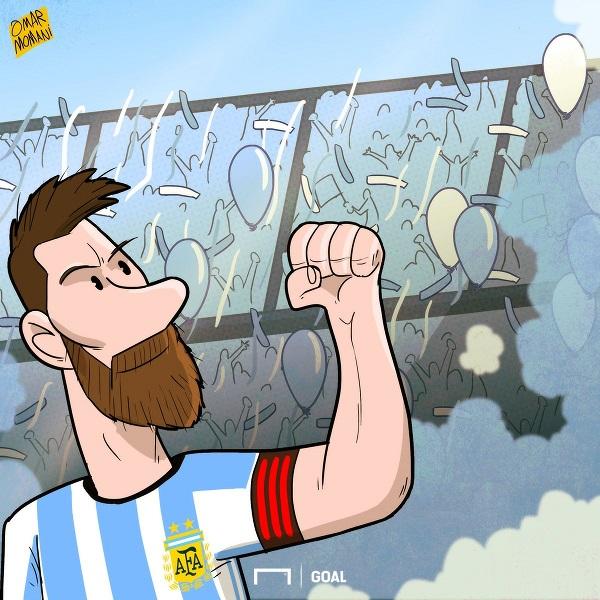 Memes Ecuador-Argentina Eliminatorias
