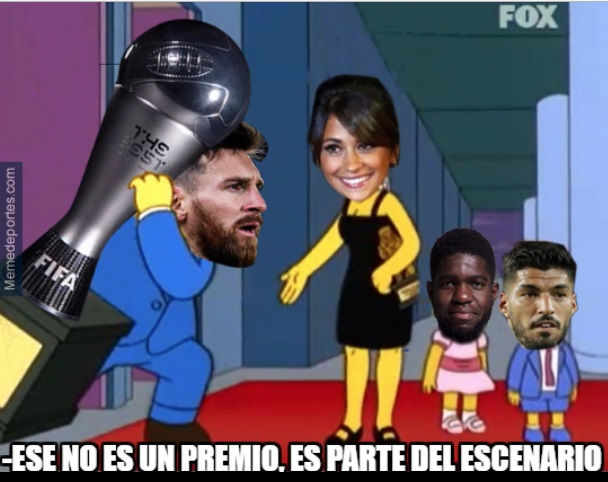 Memes FIFA The Best 2017