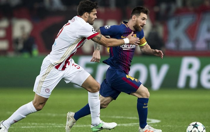 Olympiacos 0-0 Barcelona