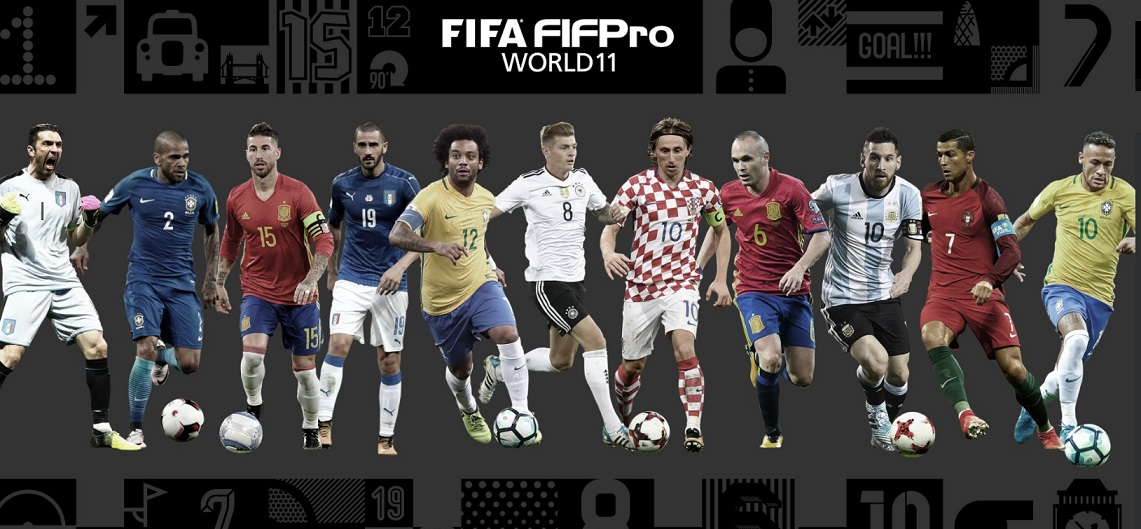 Once Ideal FIFPro 2017