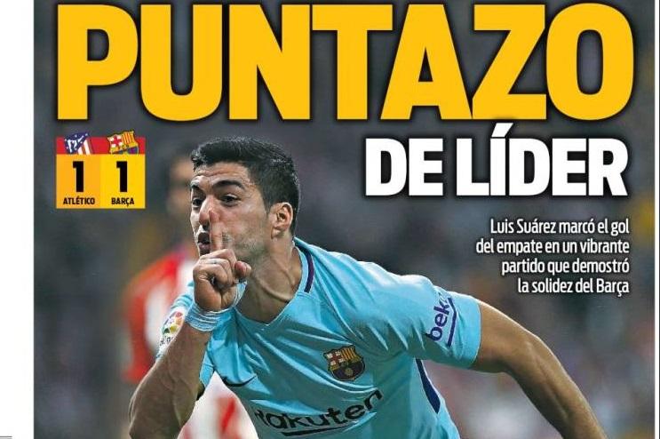 Luis Suárez calla al Metropolitano