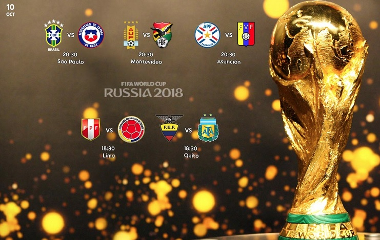 Eliminatorias Sudamericanas Fecha 18