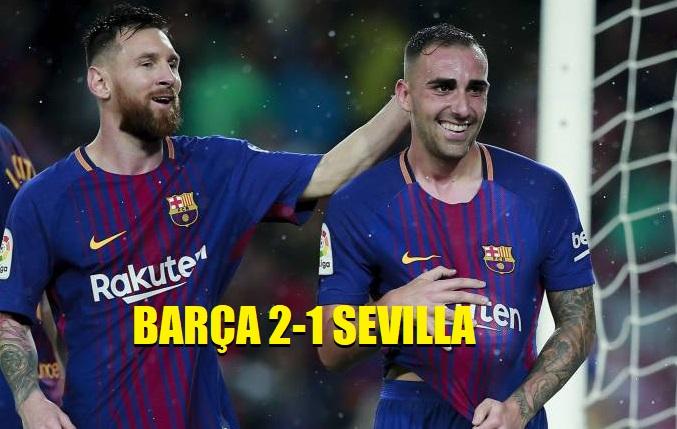 Barcelon 2-1 Sevilla 2017