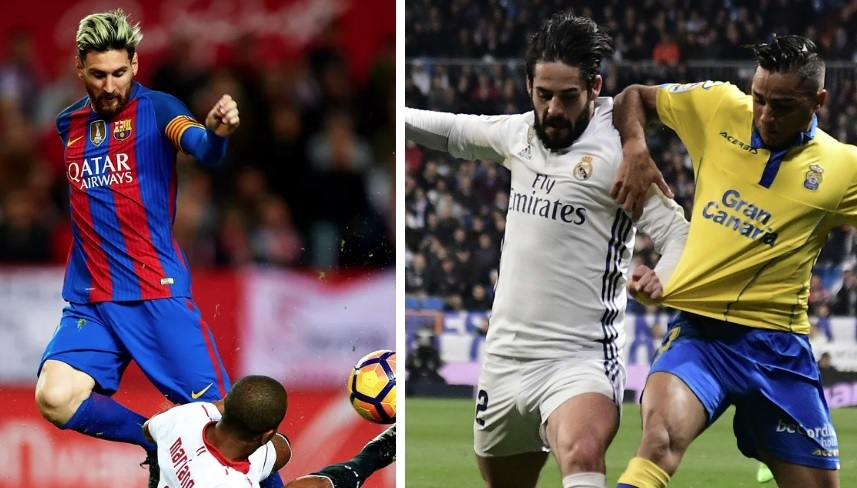 Alineaciones Jornada 11 Liga Española 2017