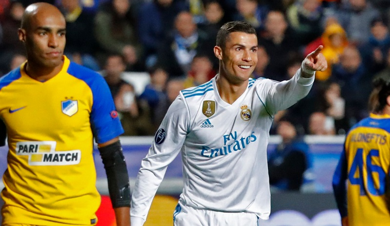 APOEL 0-6 Real Madrid