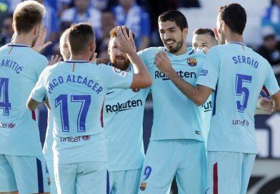 Leganés 0-3 Barcelona