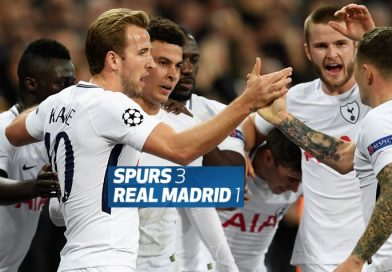 Tottenham 3-1 Real Madrid Jornada 4 Champions 2017
