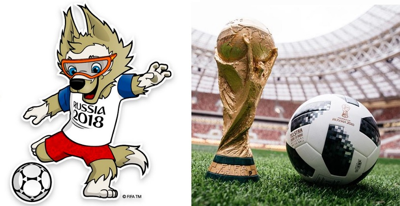 Mascota Zabivaka y la Copa del Mundo de la FIFA