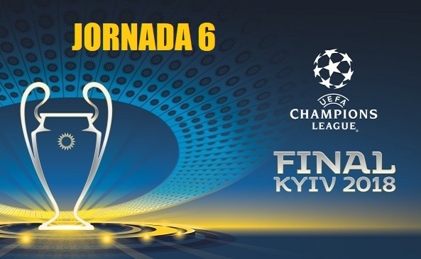 Partidos Jornada 6 Champions League 2017
