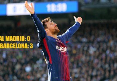Real Madrid 0-3 Barcelona Jornada 17 | El Clásico 2017