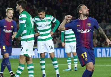 Barcelona 2-0 Sporting Portugal