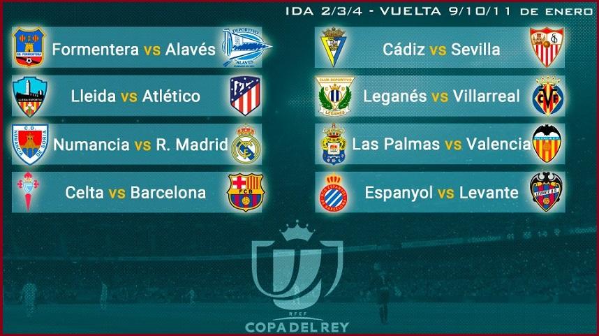 Octavos Copa del Rey 2018