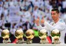 Cristiano ofrece su quinto Balón de Oro al Bernabéu