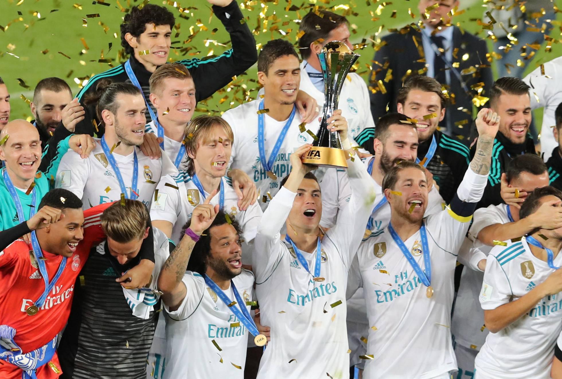 imágenes del Real Madrid Campeón Mundial Clubes 2017