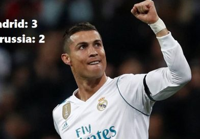 Real Madrid 3-2 Borussia Dortmund