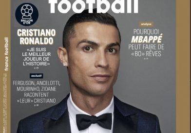 Cristiano de Oro, gana su quinto Balón de Oro e iguala a Messi | Las portadas