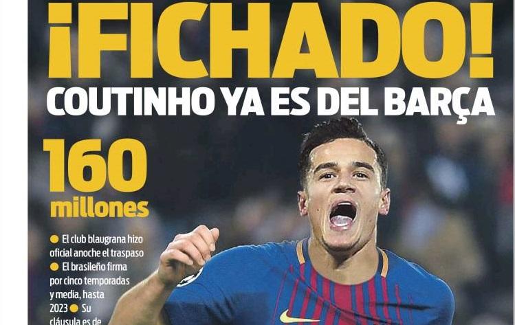 Coutinho ficha por el Barcelona