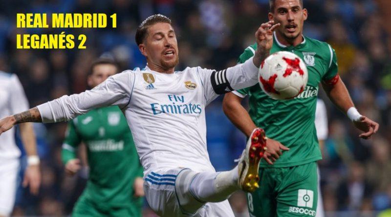 El Leganés elimina al Real Madrid de la Copa