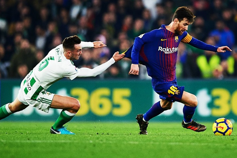Betis 0-5 Barcelona Jornada 20