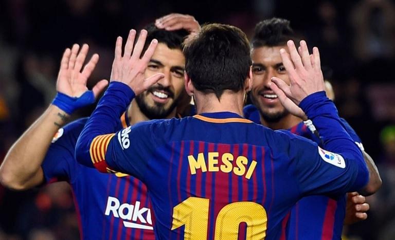 Barcelona 3-0 Levante 2018